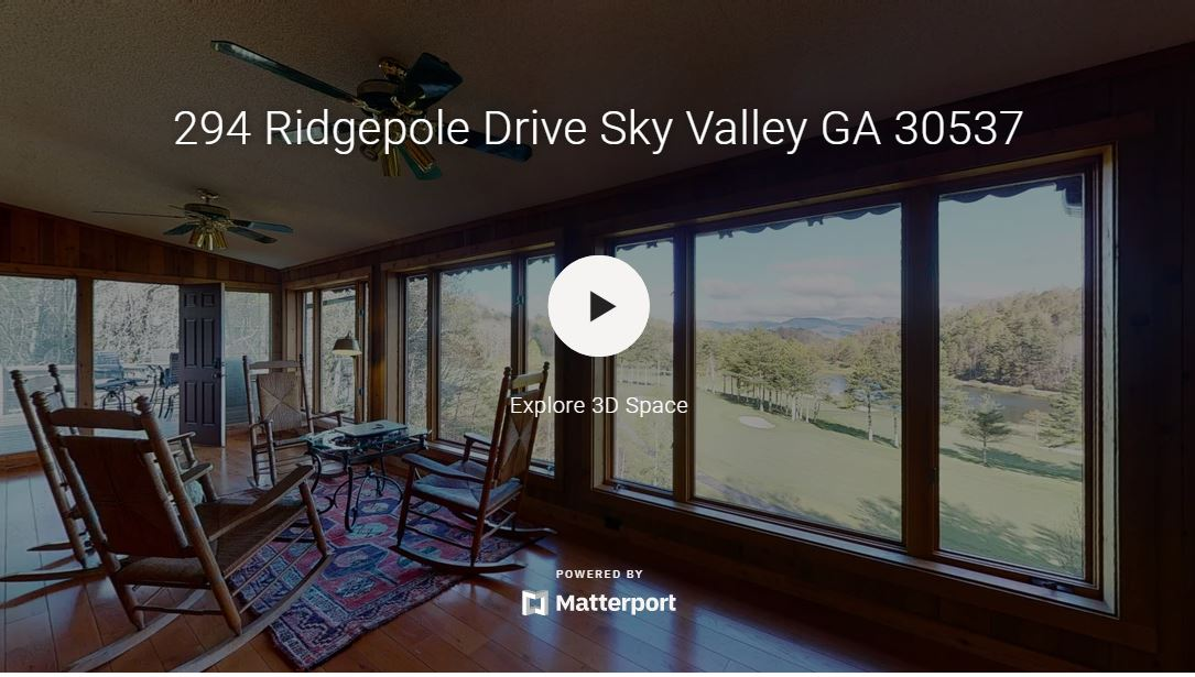 Self Guided Tour of 294 Ridgepole Dr Sky Valley Ga